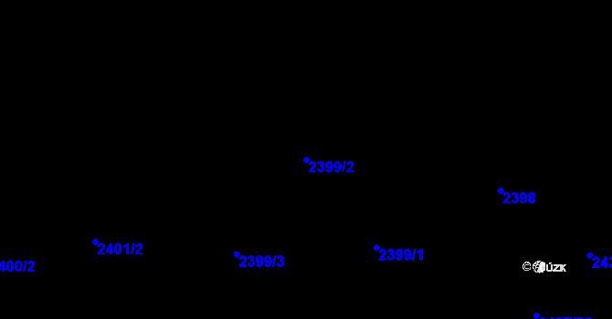 Parcela st. 2399/2 v k.ú. Frýdlant nad Ostravicí, Katastrální mapa