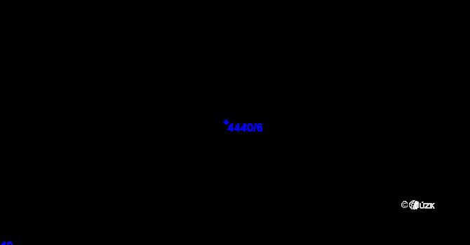 Parcela st. 4440/6 v k.ú. Třebovice ve Slezsku, Katastrální mapa