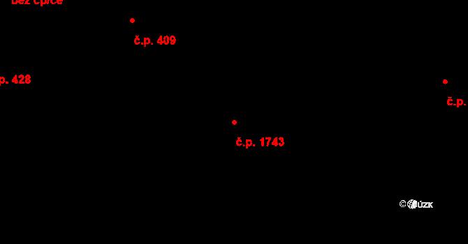 Frýdlant 1743, Frýdlant nad Ostravicí na parcele st. 2347/5 v KÚ Frýdlant nad Ostravicí, Katastrální mapa