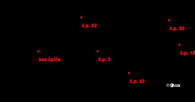 Salaš 3, Zlín na parcele st. 136 v KÚ Salaš u Zlína, Katastrální mapa