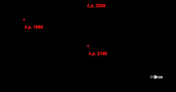 Nový Hradec Králové 2148, Hradec Králové na parcele st. 3728 v KÚ Nový Hradec Králové, Katastrální mapa