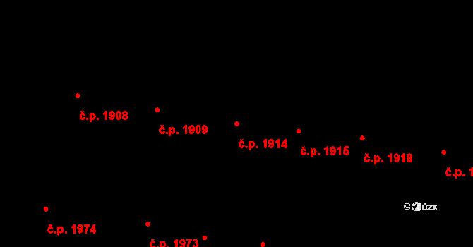 České Budějovice 3 1914, České Budějovice na parcele st. 4523 v KÚ České Budějovice 3, Katastrální mapa