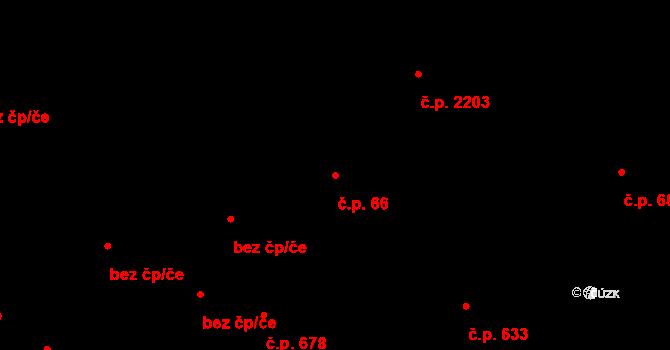 Žďár nad Sázavou 1 66, Žďár nad Sázavou na parcele st. 253 v KÚ Město Žďár, Katastrální mapa