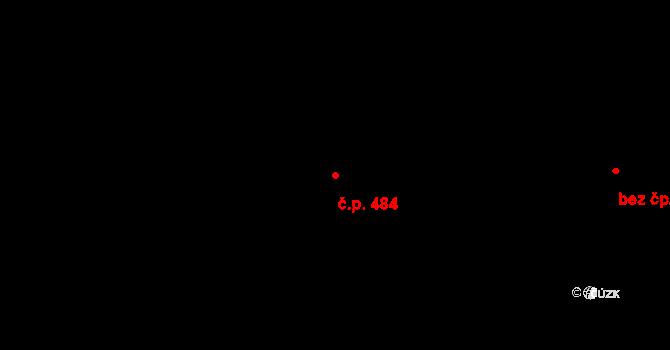 Velká Chuchle 484, Praha na parcele st. 1000/45 v KÚ Velká Chuchle, Katastrální mapa