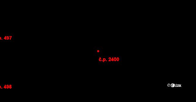 Břevnov 2400, Praha na parcele st. 2092/9 v KÚ Břevnov, Katastrální mapa