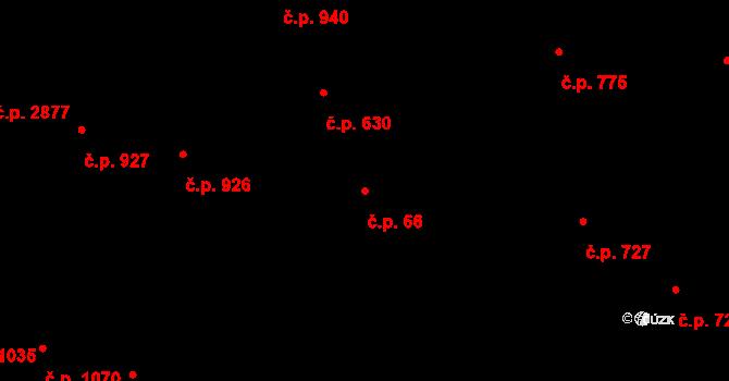 Žižkov 66, Praha na parcele st. 387 v KÚ Žižkov, Katastrální mapa