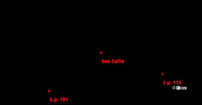 Pardubice 46708031 na parcele st. 146 v KÚ Lány na Důlku, Katastrální mapa