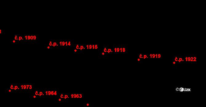 České Budějovice 3 1918, České Budějovice na parcele st. 4531 v KÚ České Budějovice 3, Katastrální mapa