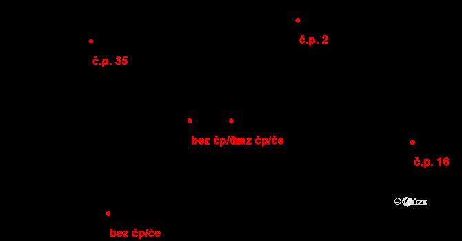 Letiny 46201033 na parcele st. 39 v KÚ Svárkov, Katastrální mapa