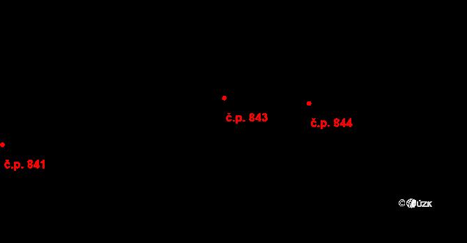 Liberec XII-Staré Pavlovice 843, Liberec na parcele st. 712/12 v KÚ Staré Pavlovice, Katastrální mapa