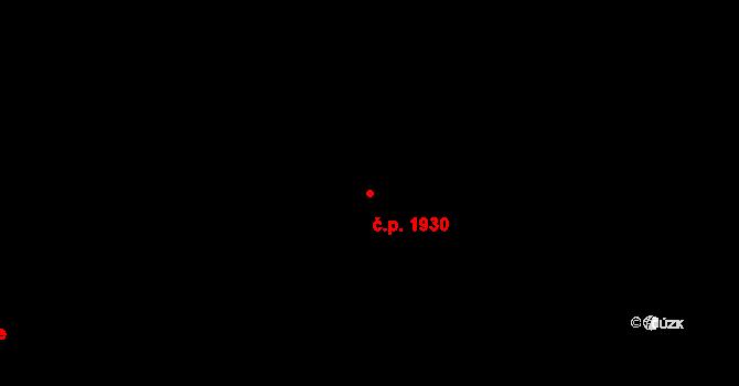 Ústí nad Labem-centrum 1930, Ústí nad Labem na parcele st. 135/1 v KÚ Ústí nad Labem, Katastrální mapa