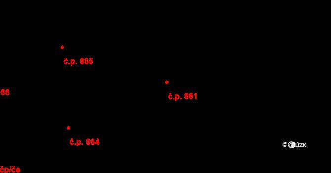 Liberec XII-Staré Pavlovice 861, Liberec na parcele st. 814/33 v KÚ Staré Pavlovice, Katastrální mapa