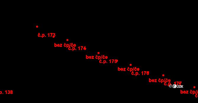 Nedvězí 175, Olomouc, Katastrální mapa