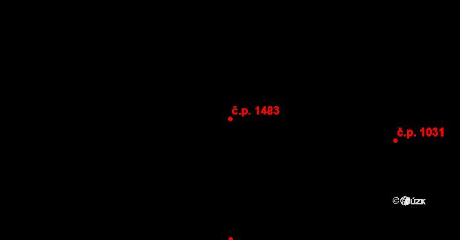 Radvanice 1483, Ostrava, Katastrální mapa