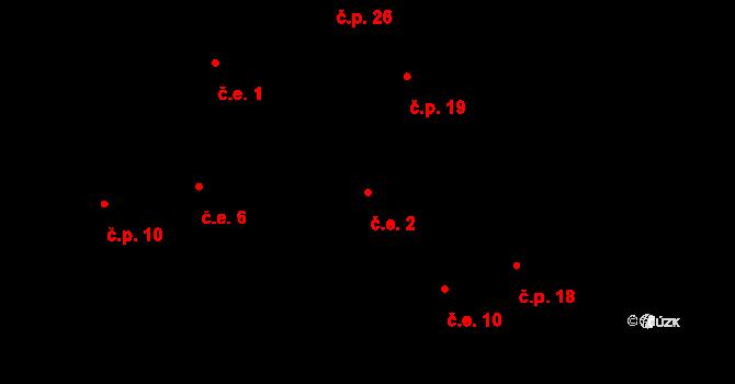 Režný Újezd 2, Velemín na parcele st. 44/3 v KÚ Boreč u Lovosic, Katastrální mapa