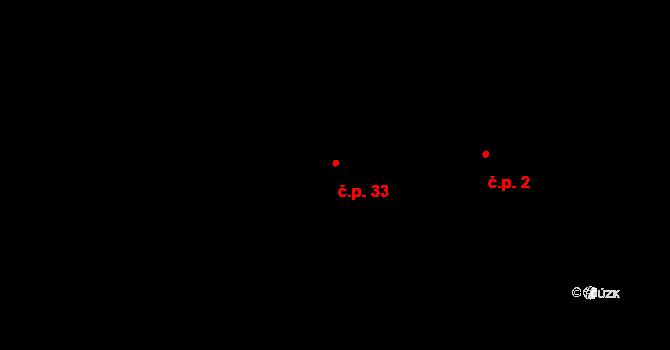 Čejetice 33, Mladá Boleslav na parcele st. 6/1 v KÚ Čejetice u Mladé Boleslavi, Katastrální mapa