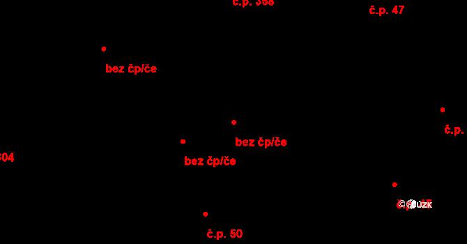 Zásada 44190051 na parcele st. 510 v KÚ Zásada, Katastrální mapa
