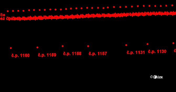 Předměstí 1157, Svitavy na parcele st. 1083 v KÚ Svitavy-předměstí, Katastrální mapa