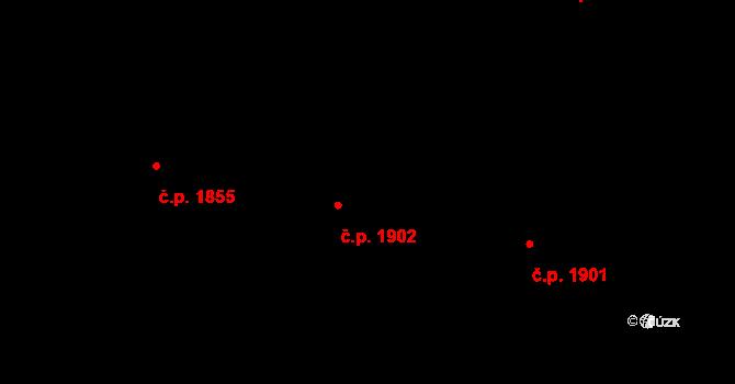 Čelákovice 1902 na parcele st. 4579 v KÚ Čelákovice, Katastrální mapa