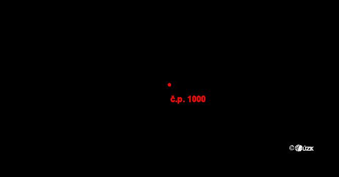 Dobrá 1000 na parcele st. 37/6 v KÚ Dobrá u Frýdku-Místku, Katastrální mapa