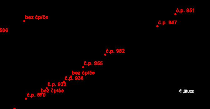 Holice 952, Olomouc na parcele st. 679/29 v KÚ Holice u Olomouce, Katastrální mapa