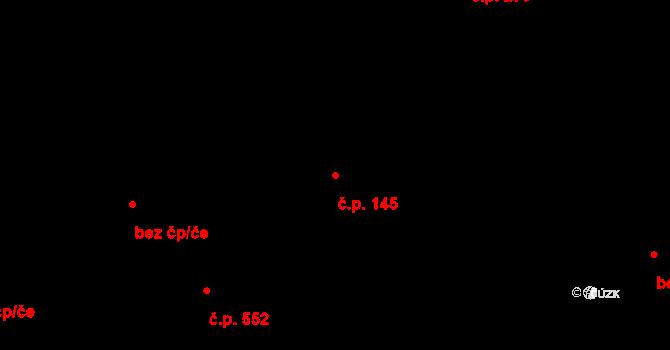 Svoboda nad Úpou 145 na parcele st. 170/2 v KÚ Svoboda nad Úpou, Katastrální mapa