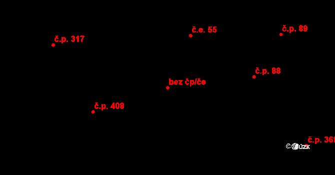 Březno 88791068 na parcele st. 184/7 v KÚ Březno u Chomutova, Katastrální mapa