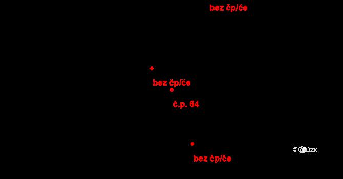 Čejč 64 na parcele st. 2330/3 v KÚ Čejč, Katastrální mapa