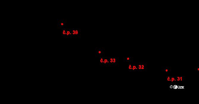 Krásné Loučky 33, Krnov na parcele st. 86 v KÚ Krásné Loučky, Katastrální mapa