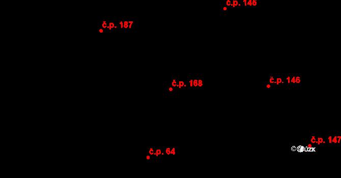 Liberec XX-Ostašov 168, Liberec na parcele st. 43/3 v KÚ Ostašov u Liberce, Katastrální mapa