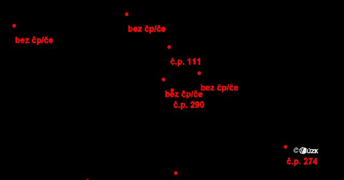 Nová Role 290 na parcele st. 1330 v KÚ Nová Role, Katastrální mapa