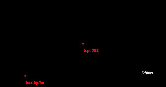 Neředín 298, Olomouc na parcele st. 369 v KÚ Neředín, Katastrální mapa