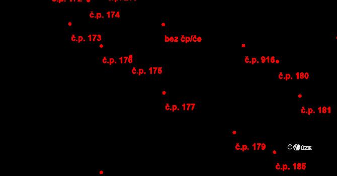 Valašské Klobouky 177 na parcele st. 168 1 v KÚ Valašské Klobouky 8695093089