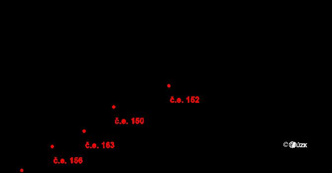 Loket 152 na parcele st. 1008/12 v KÚ Loket, Katastrální mapa
