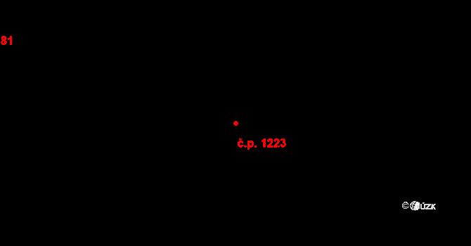 Mladá Boleslav II 1223, Mladá Boleslav na parcele st. 5732 v KÚ Mladá Boleslav, Katastrální mapa