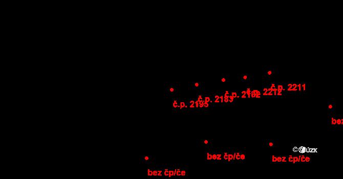 Bolevec 2195, Plzeň na parcele st. 1565/12 v KÚ Bolevec, Katastrální mapa
