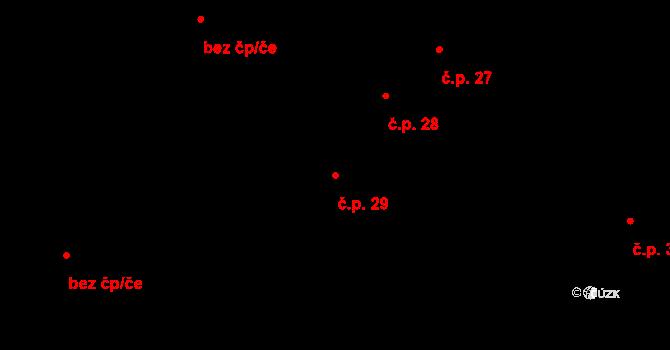 Staňkov I 29, Staňkov na parcele st. 68 v KÚ Staňkov-město, Katastrální mapa