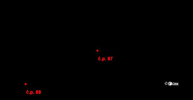Lednice 610 na parcele st. 223/2 v KÚ Nejdek u Lednice, Katastrální mapa
