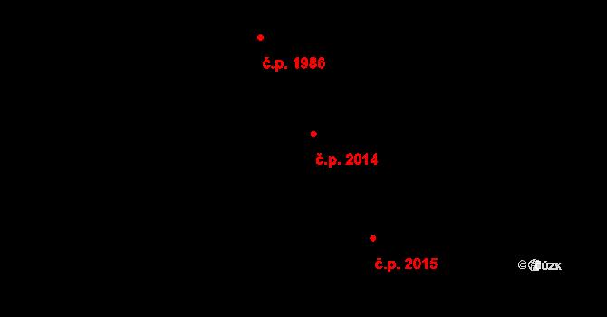 Blansko 2014 na parcele st. 3903 v KÚ Blansko, Katastrální mapa