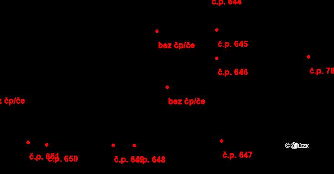 Pardubice 40410111 na parcele st. 1202 v KÚ Svítkov, Katastrální mapa