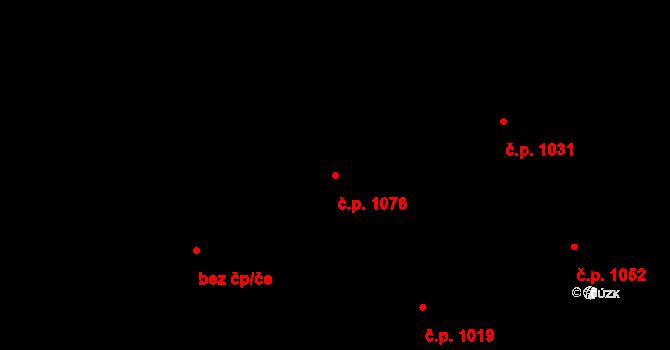 Hrabová 1076, Ostrava, Katastrální mapa