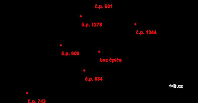 Duchcov 45058113 na parcele st. 1061/2 v KÚ Duchcov, Katastrální mapa