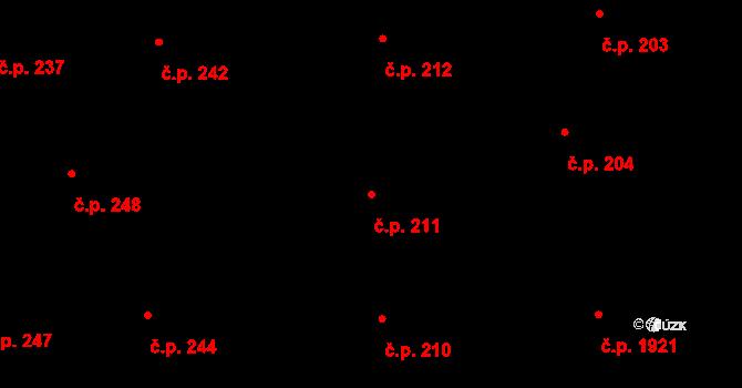 Nové Město 211, Praha na parcele st. 996/1 v KÚ Nové Město, Katastrální mapa