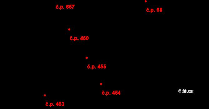 Brno-město 455, Brno na parcele st. 140 v KÚ Město Brno, Katastrální mapa
