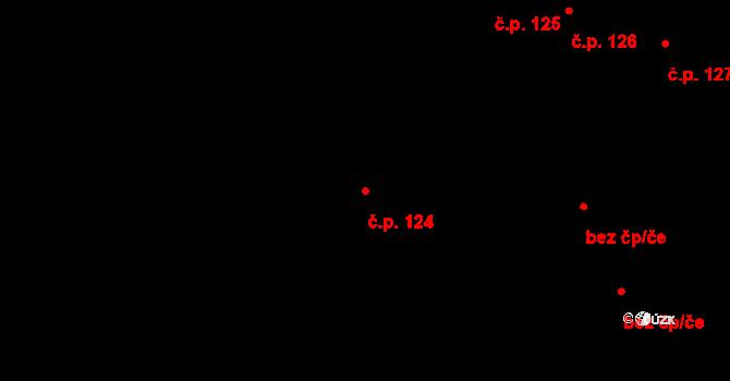 České Budějovice 7 124, České Budějovice na parcele st. 309/1 v KÚ České Budějovice 7, Katastrální mapa