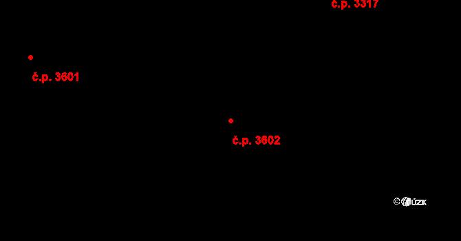 Frýdek 3602, Frýdek-Místek na parcele st. 5865/17 v KÚ Frýdek, Katastrální mapa