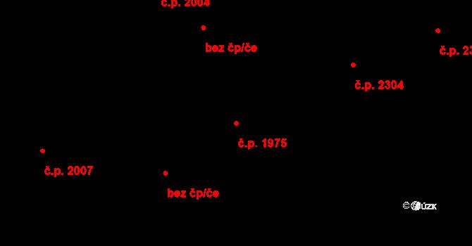 Kladno 1975 na parcele st. 3317 v KÚ Kladno, Katastrální mapa