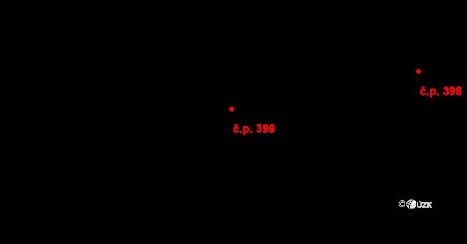 Plesná 399, Ostrava, Katastrální mapa