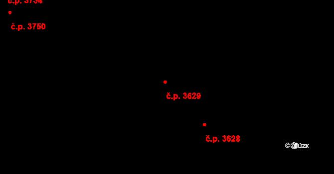 Frýdek 3629, Frýdek-Místek na parcele st. 6545/18 v KÚ Frýdek, Katastrální mapa