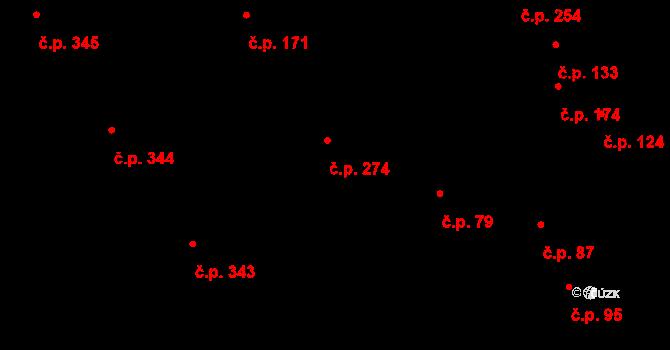 Kokory 79 na parcele st. 81/2 v KÚ Kokory, Katastrální mapa
